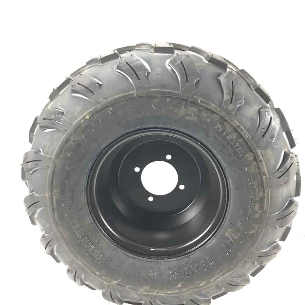 "19x7-8 8/"" Left  Wheel Rim Tire Assembly for 125cc 250cc ATVs New 19-7-8"