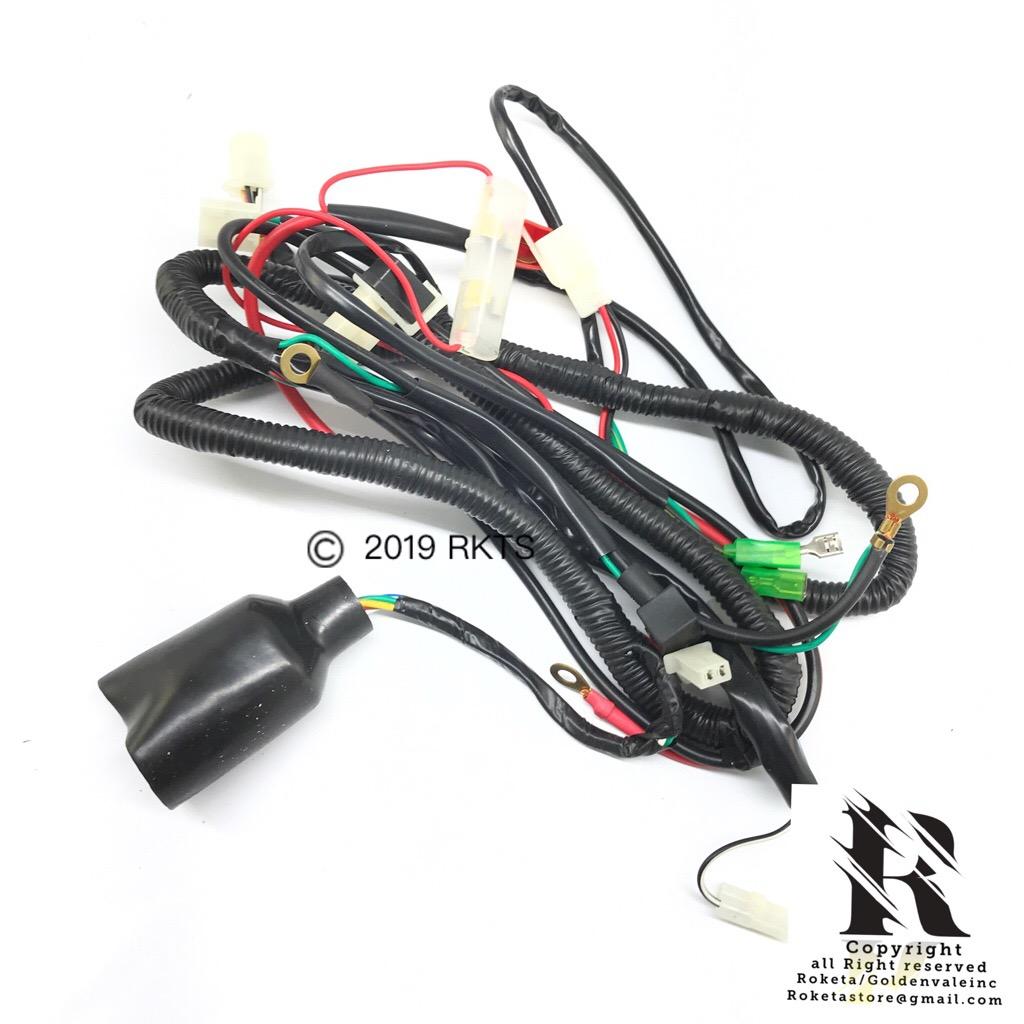 [SCHEMATICS_4CA]  Wire Harness For Apollo 250cc > RoketaStore | 250cc Roketa Wiring Harness |  | PARTS BY DIRT BIKES