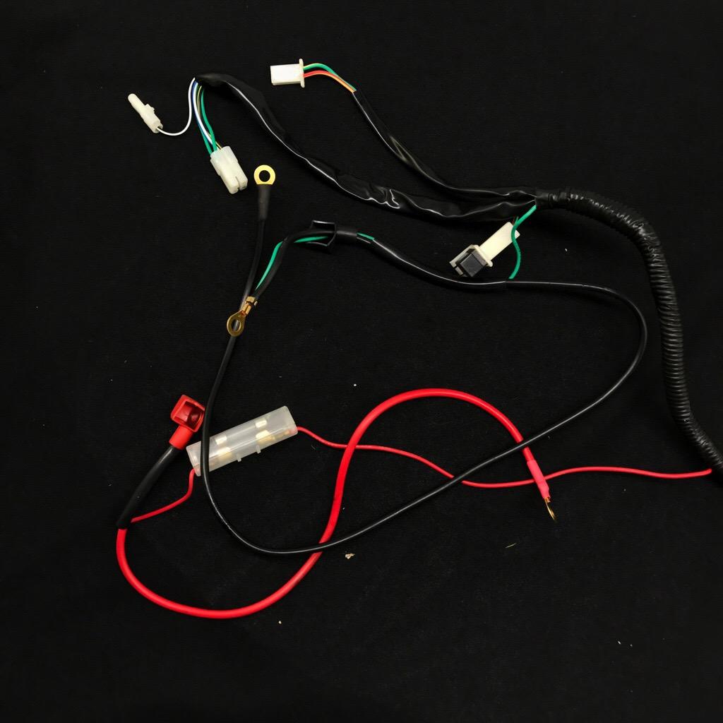 [DIAGRAM_38EU]  Wire Harness For Apollo 250cc > RoketaStore | 250cc Roketa Wiring Harness |  | PARTS BY DIRT BIKES