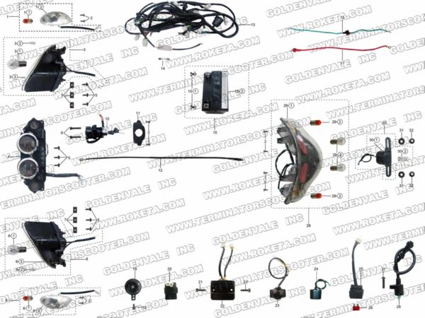 MC-54-250-02 WIRING ASSEMBLY